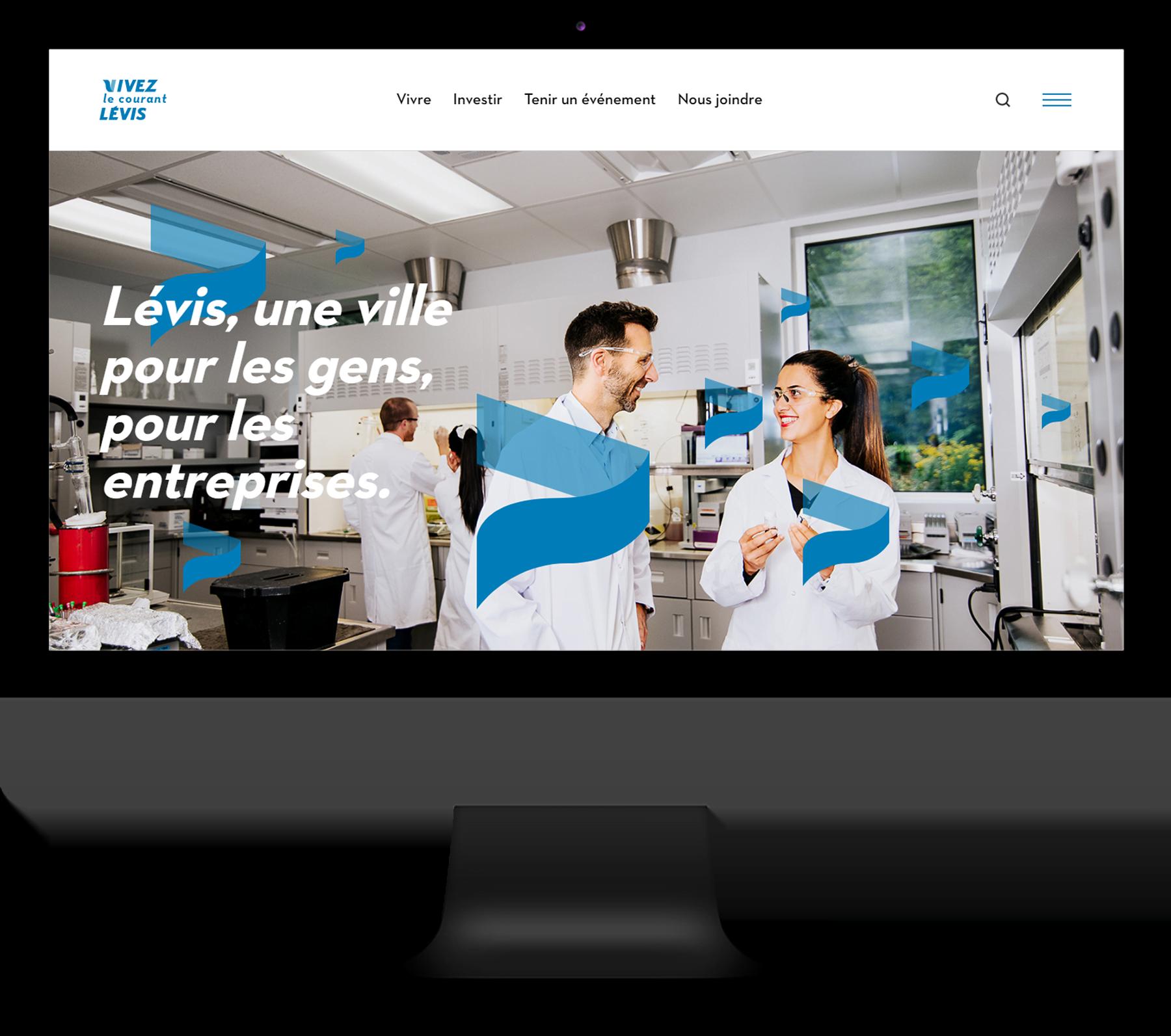 Courant Lévis - Site internet