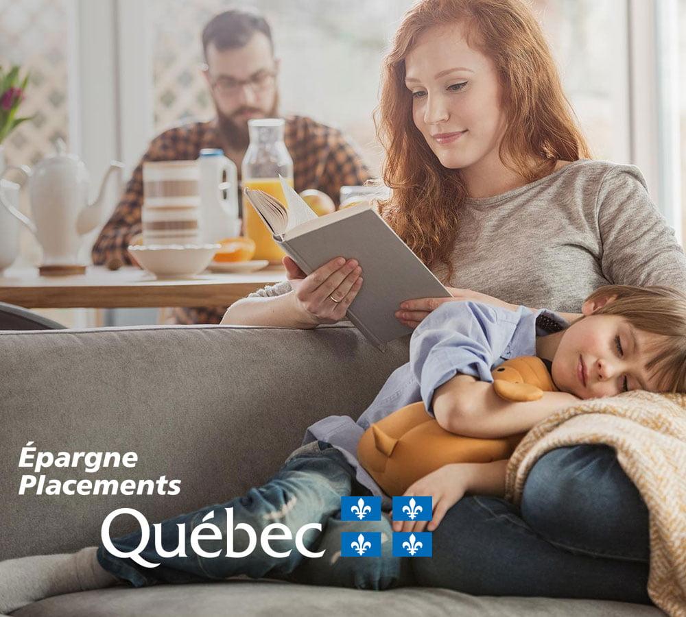 Épargne Placements Québec – Site Web