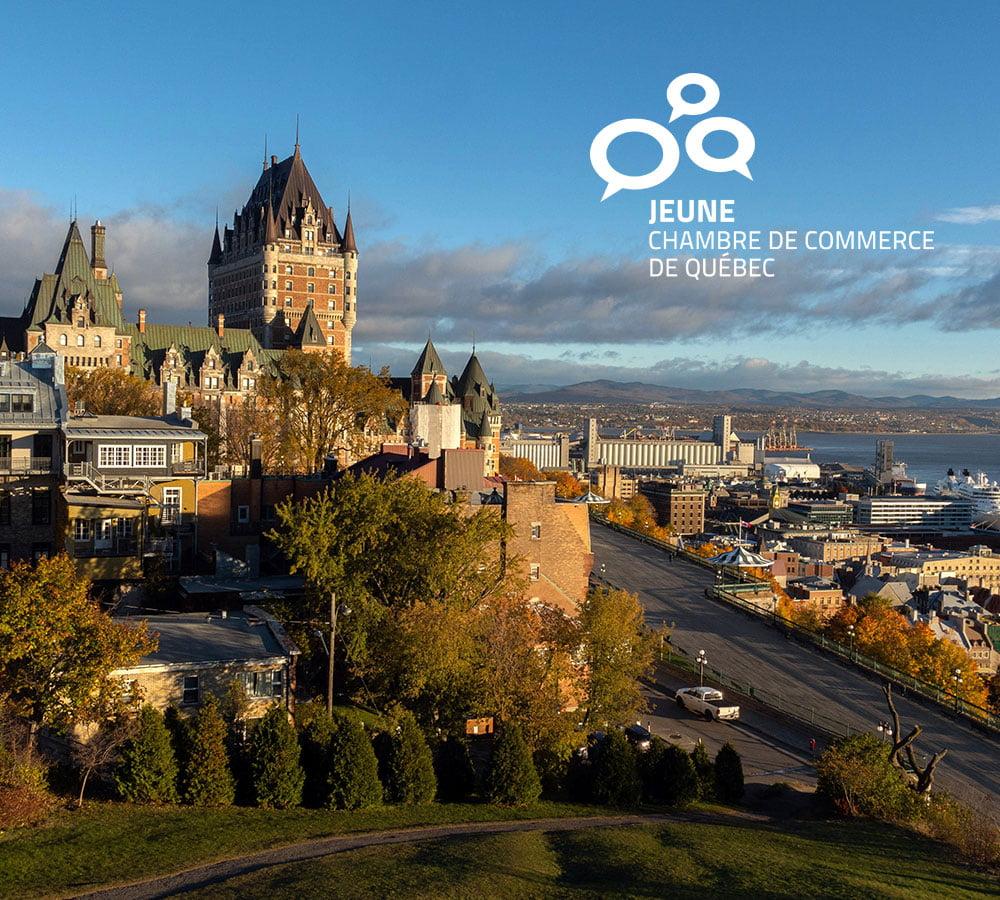 Jeune Chambre de Commerce de Québec – Site Web professionnel