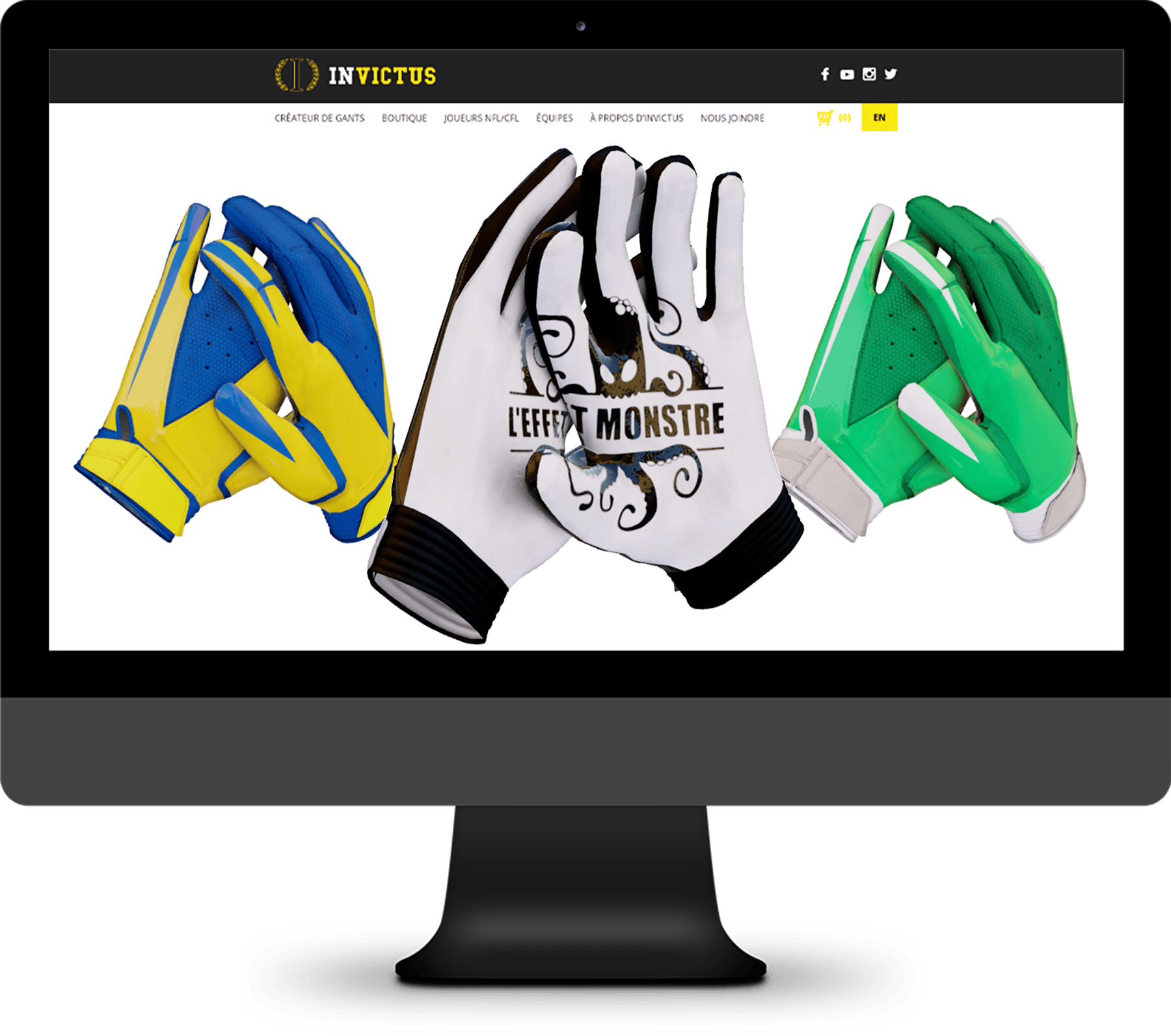 Invictus Gloves – Visualisateur 3D
