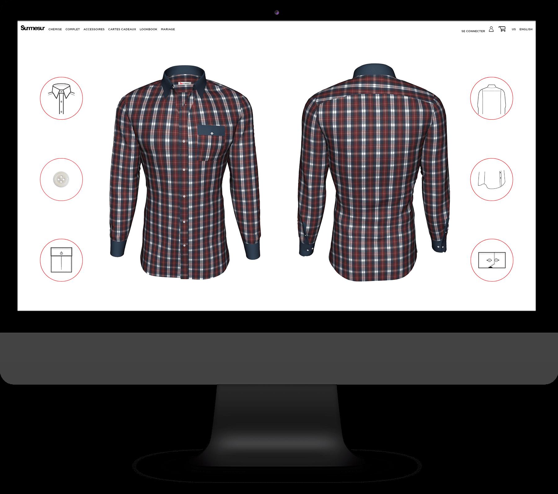 Les Boutiques Surmesur – Visualisateur 3D