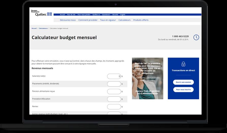 Nouvelle plateforme complètement responsive pour Épargne Placements Québec