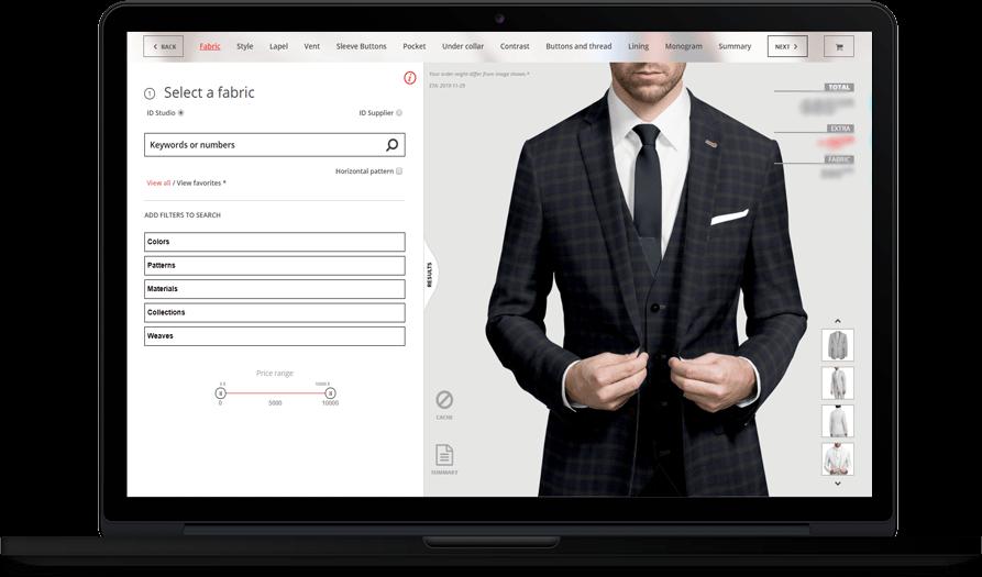 Les boutique Surmesur – Application Web