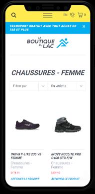 La Boutique du Lac - Commerce en ligne