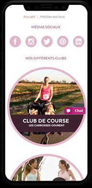 Bougeotte & Placotine bénéficie de plusieurs clubs pour ses clientes