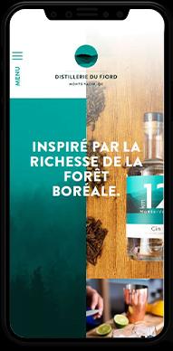 Distillerie du Fjord – Site Web