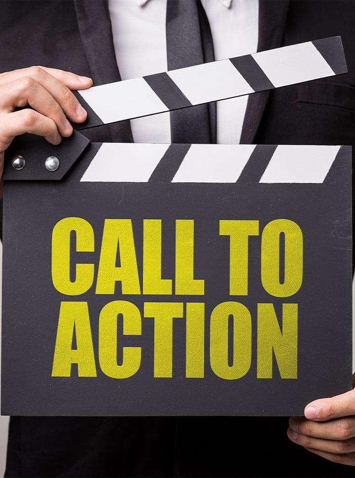 appel à l'action mobile