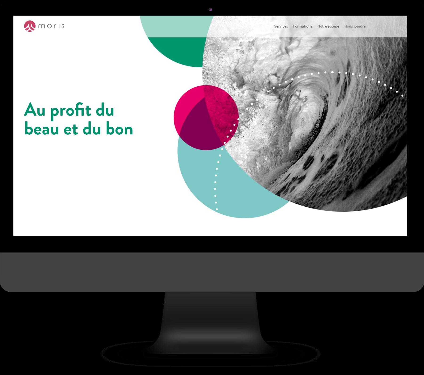 Moris - Site vitrine WordPress