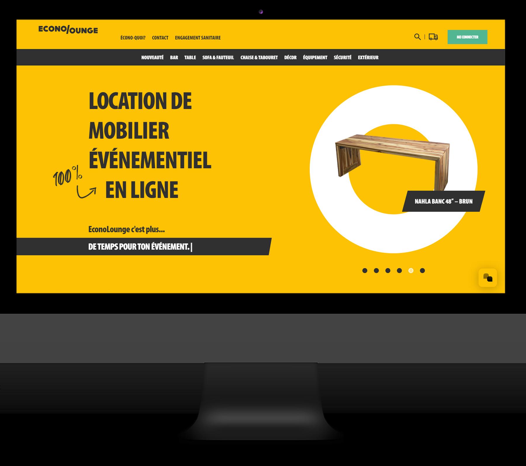 EconoLounge - Commerce Électronique